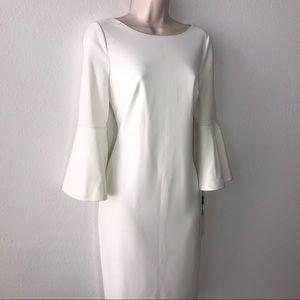 Calvin Klein White Dress Size 8